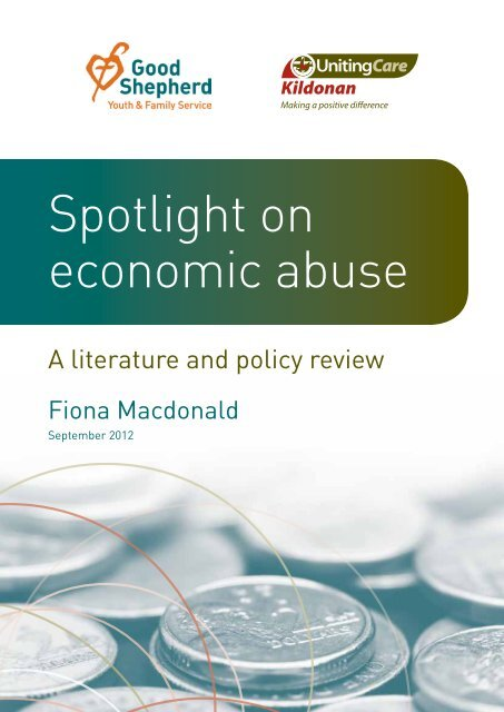 Spotlight on Economic Abuse: a Literature and Policy Review