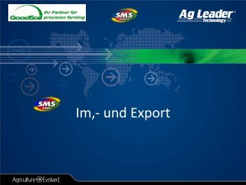 Im,- und Export - GoodSoil