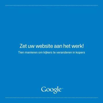 Download 'Zet uw website aan het werk!' - Google