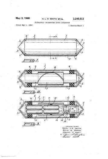 ULTRASONIC UNDERWATER SOUND GENERATOR - Google