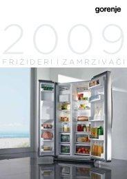 frižideri i zamrzivači - Gorenje