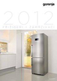 Pdf katalog: Gorenje Frižideri i zamrzivaći 2012