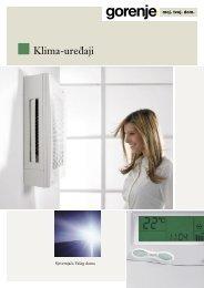 klime katalog 2005 CRO.indd - Gorenje