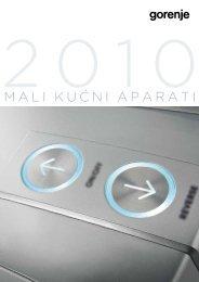 Pdf katalog: Gorenje Mali kućni aparati 2010