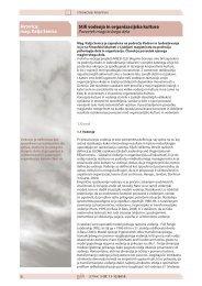 6 Stili vodenja in organizacijska kultura Povzetek ... - Gorenje Group