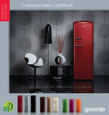Collection Rétro GORENJE Un arc-en-ciel de nouvelles couleurs