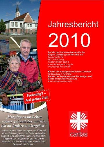 Jahresbericht 2010 Publisher
