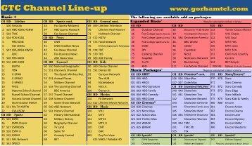 sirius channel guide dish network rh yumpu com sirius xm channel guide 2018 pdf Sirius Radio Channels