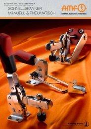 schnellspanner manuell & pneumatisch - Andreas Maier GmbH & Co.