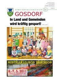 Ausgabe März 2011 - Gosdorf