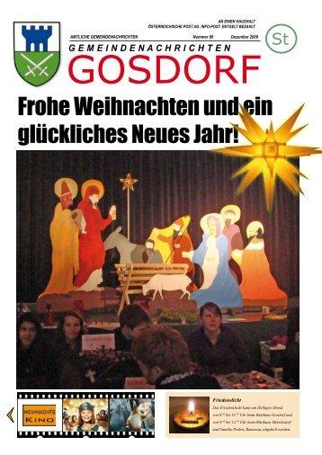 Ausgabe Dezember 2009 - Gosdorf