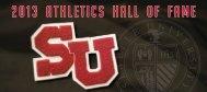 2013 Athletics Hall of Fame Invitation - Seattle University Athletics