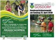 Ausgabe April 2010 - Gosdorf
