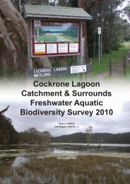 Cockrone Lagoon Aquatic Biological Survey-Final Report (PDF File ...