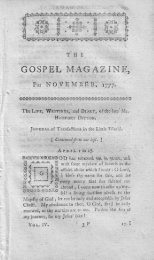 November - The Gospel Magazine