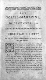 December 1766 - The Gospel Magazine