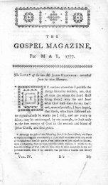 May - The Gospel Magazine