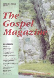 March-April - The Gospel Magazine