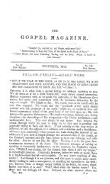 GOSPET, - The Gospel Magazine