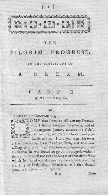 Pilgrim S Progress Part 2 The Gospel Magazine