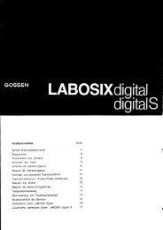 Labosix digital/S - GOSSEN Foto