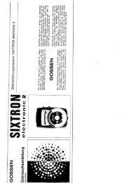 Sixtron electronic 2
