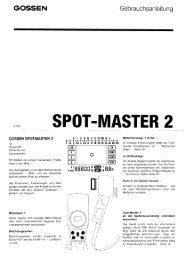 SPOT.MASTER 2 - GOSSEN Foto