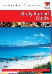 Study Abroad Guide - International Services - University of Tasmania