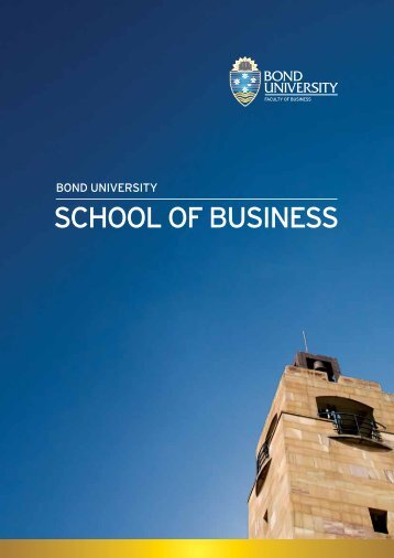 SCHOOL OF BUSINESS - GOstralia