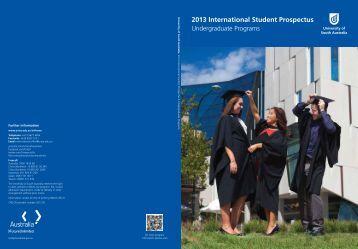 2013 International Student Prospectus - University of South Australia
