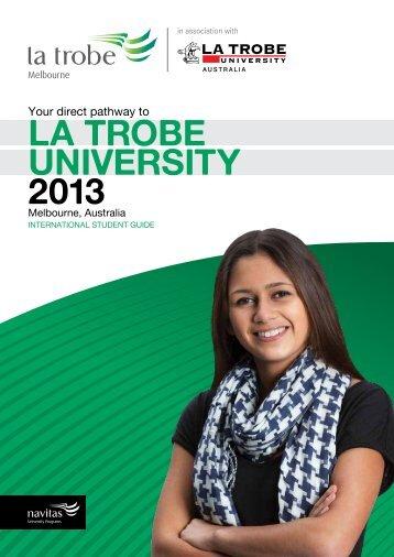 La trobe University 2013 - GOstralia