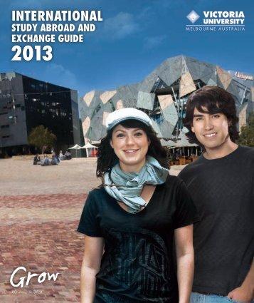 Study Abroad Guide - Victoria University