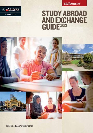 Study AbroAd And ExchAngE guidE2013 - GOstralia