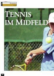 Ratgeber - gotennis - Erfolgreicher Tennis spielen