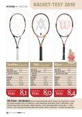 RACKET-TEST 2010 - gotennis - Erfolgreicher Tennis spielen - Seite 5