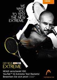 eXTReMe - gotennis - Erfolgreicher Tennis spielen