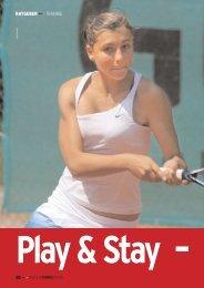 RATGEBER ••• TRAINING - gotennis - Erfolgreicher Tennis spielen