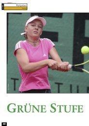 GRÜNE STUFE - gotennis - Erfolgreicher Tennis spielen