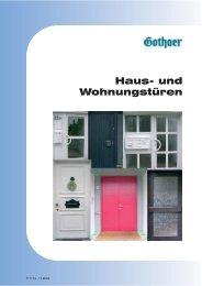 Haus- und Wohnungstüren - Gothaer Versicherungen
