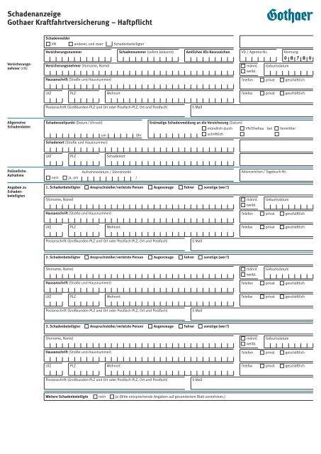 KFZ-Haftpflichtversicherung - Gothaer Versicherungen