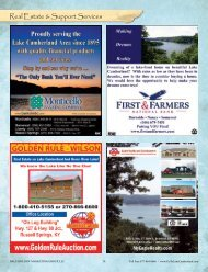 Real Estate & Support Services - Lake Cumberland, Kentucky ...