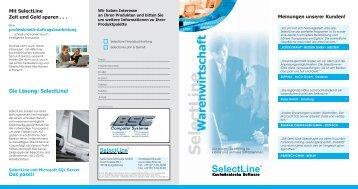 Selectline Warenwirtschaft - BSC Computer Systeme Gmbh