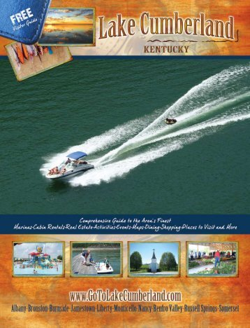 Download PDF - Lake Cumberland, Kentucky...Vacations, Marinas ...