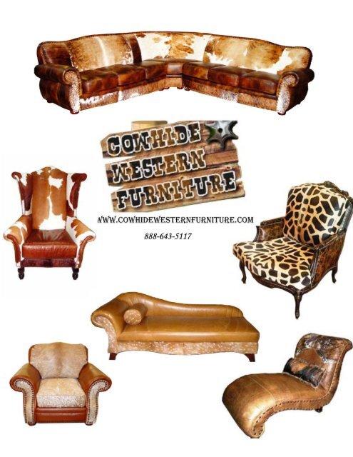 Wooden Things Cowhide Western Furniture, Cowhide Western Furniture Facebook