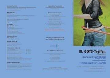 Programm - (GOTS).