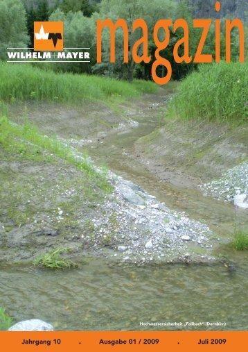 Jahrgang 10 . Ausgabe 01 / 2009 . Juli 2009
