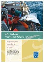 MSC: Fischerei - Gottfried Friedrichs