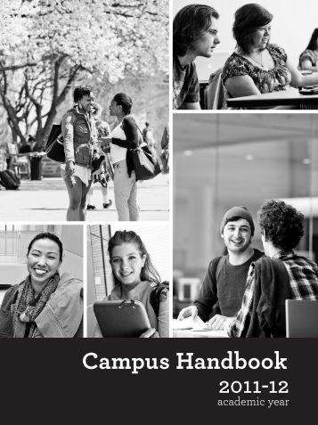 Campus Handbook 2011-12 - Goucher College