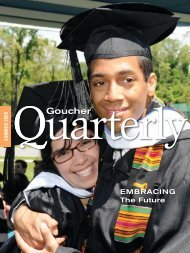 Download Printable PDF - Goucher College