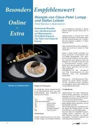 Besonders Empfehlenswert Online - Extra - Gour-med